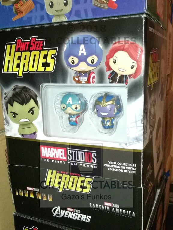 Marvel Studios The First Ten Years Pint Sized Heroes FULL BOX of 24 Funko POP - FREE P&P