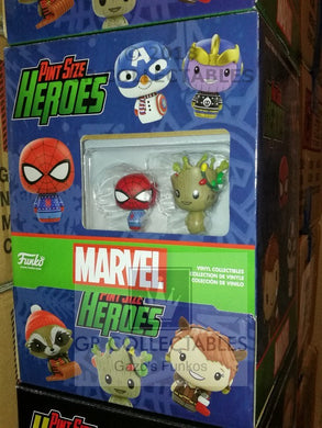 Marvel Holiday Pint Sized Heroes Funko POP - FREE P&P