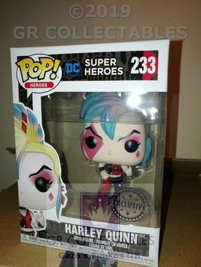 DC Super Heroes Harley Quinn Punk Exclusive Funko POP