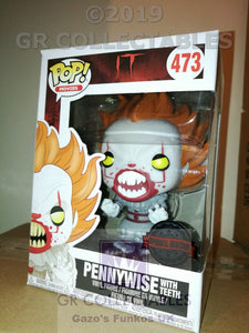 Movies: IT: Pennywise with Teeth Exclusive Funko POP
