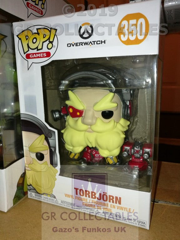 Gaming: Overwatch S4 Torbjorn Funko POP