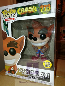 Gaming: Crash Bandicoot Glow in the Dark Exclusive Funko POP