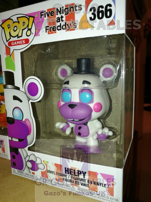 Five Nights At Freddys 6 Pizzeria Simulator Helpy Funko POP