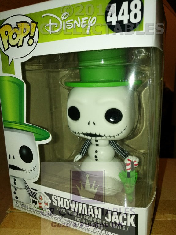 Movies: Nightmare Before Christmas Snowman Jack Funko POP