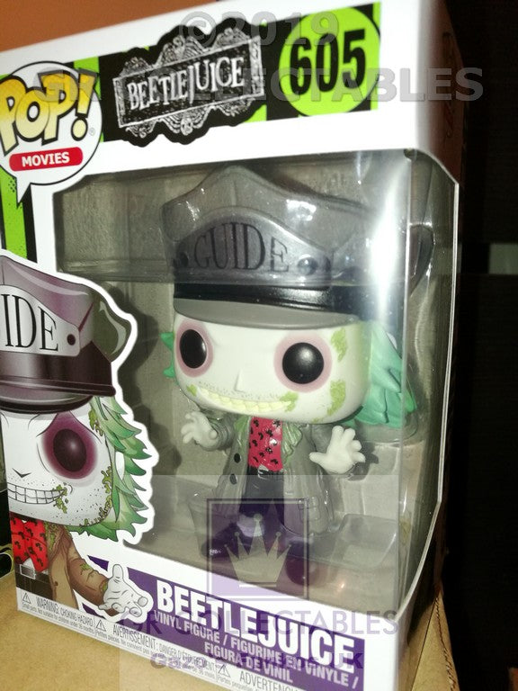 Movies: Beetlejuice with Hat Funko POP