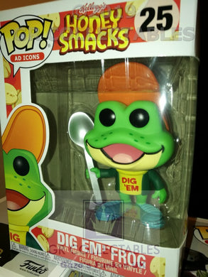 Ad Icons Dig 'Em Frog Honey Smacks Funko POP