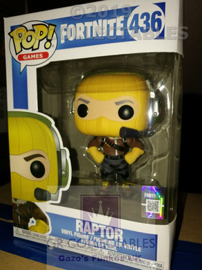 Gaming: Fortnite Raptor Funko POP