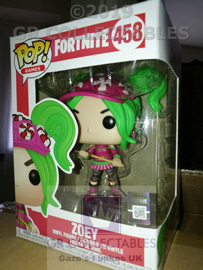 Gaming: Fortnite S2 Zoey Funko POP