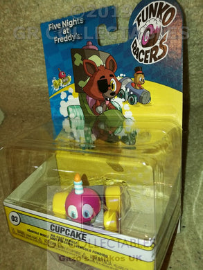 Animation Five Nights At Freddys Super Racer Cupcake Funko POP