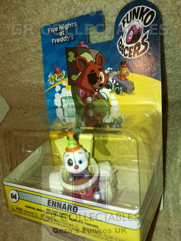 Animation Five Nights At Freddys Super Racer Ennard Funko POP