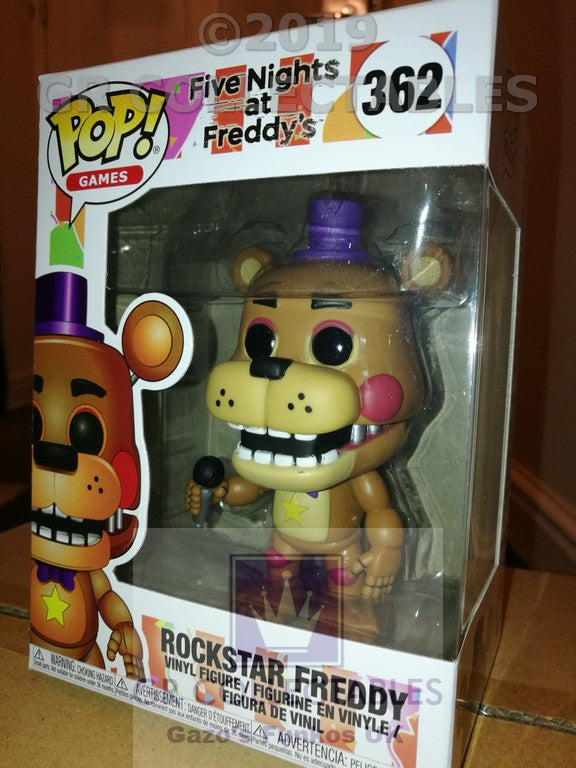 Five Nights At Freddys 6 Pizzeria Simulator Rockstar Freddy Funko POP