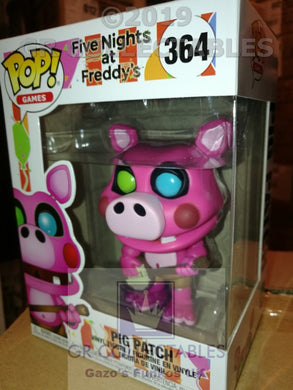 Five Nights At Freddys 6 Pizzeria Simulator Pigpatch Funko POP