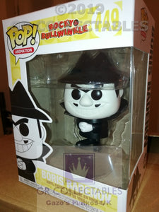Animation Rocky and Bullwinkle Boris Badenov Funko POP