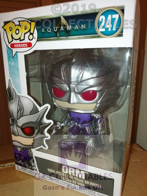 Movies Aquaman Orm Funko POP box damage