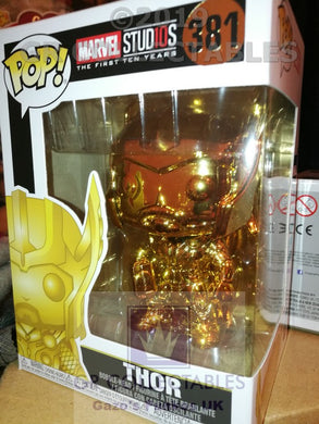 Marvel Studio The First 10 Years Thor Chrome Funko POP