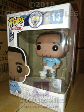 Sport Football Soccer Manchester City Gabriel Jesus Funko POP