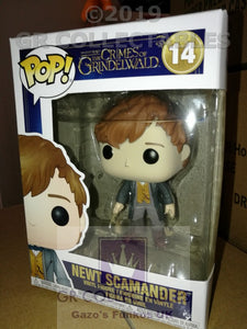 Movies: Fantastic Beasts 2 Newt Scamander Funko POP