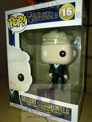 Movies: Fantastic Beasts 2 Gellert Grindelwald Funko POP