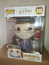 "Harry Potter DUMBLEDORE with FAWKES 10"" Funko POP"