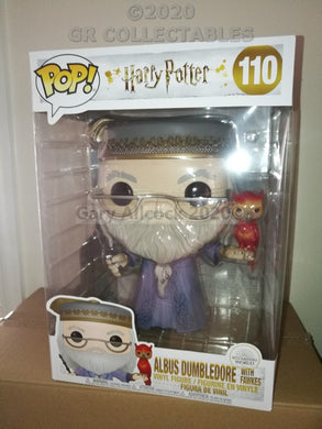 Harry Potter DUMBLEDORE with FAWKES 10