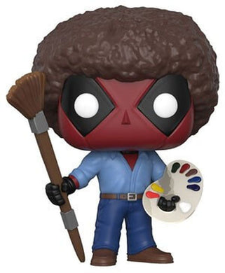 Movies: Deadpool: Deadpool Bob Ross Funko POP