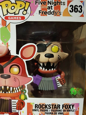 Five Nights At Freddys 6 Pizzeria Simulator Rockstar Foxy Funko POP - damaged