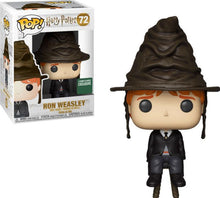 Movies: Harry Potter Ron in Sorting Hat Barnes & Noble Exclusive Funko POP