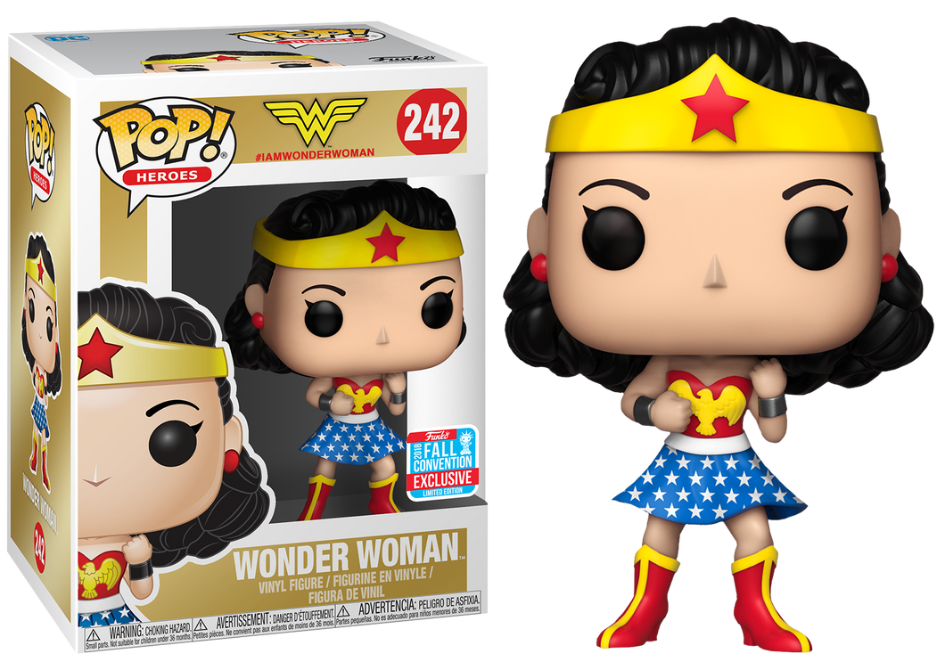 Wonder Woman First Appearance 2018 Fall Convention Exclusive Funko POP