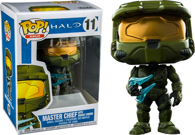 Gaming: Halo Master Chief with Energy Sword Exclusive Funko POP