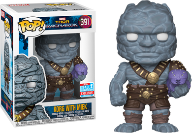 Thor Ragnorak Korg with Miek 2018 Fall Convention Exclusive Funko POP (PRE-ORDER)