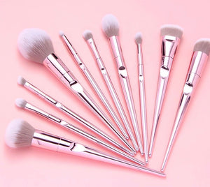 Pink Panther 10pc Brush Set