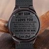 SON DAD - I BELIEVE IN THE MAN THAT YOU CAN BE - WOOD WATCH