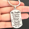 DAUGHTER DAD - BRAVER - KEY CHAIN 1