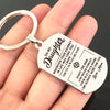 DAUGHTER MOM - ALWAYS BE SAFE - KEY CHAIN 1
