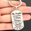 DAUGHTER MOM - BRAVER - KEY CHAIN 1