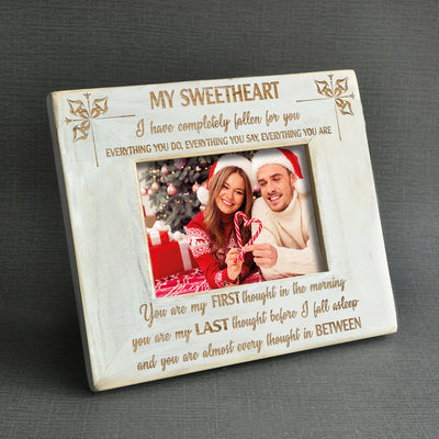 MY SWEETHEART - WOOD FRAME