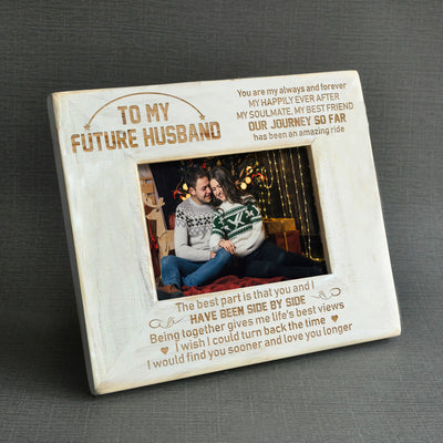 FUTURE HUSBAND - AN AMAZING RIDE - WOOD FRAME