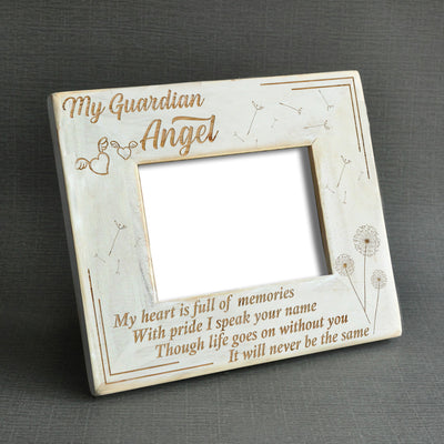 MY GUARDIAN ANGEL - WOOD FRAME