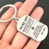 SON DAD - ALWAYS BE SAFE - KEY CHAIN 1