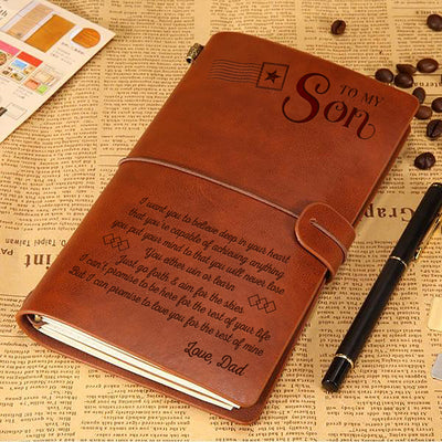 SON DAD - NEVER LOSE - VINTAGE JOURNAL