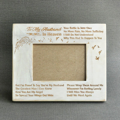 WIDOW - YOU'RE MY HUSBAND - WOOD FRAME