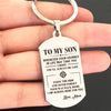 SON MOM - ALWAYS BE SAFE - KEY CHAIN 1