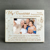 GRANDCHILD - THE GREATEST THING - WOOD FRAME