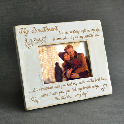 SWEETHEART - YOU STILL DO - WOOD FRAME