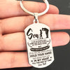SON DAD - IN YOUR HEART - KEY CHAIN 1