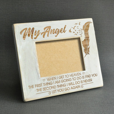 MY ANGEL - FIND YOU - WOOD FRAME