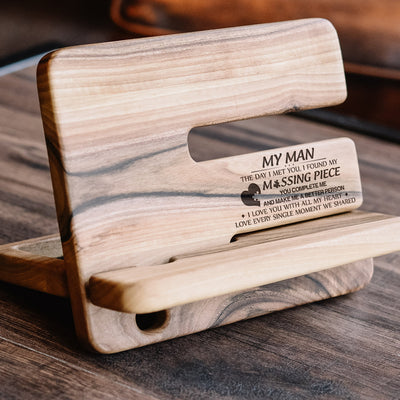MY MAN - MY MISSING PIECE - DOCKING STATION