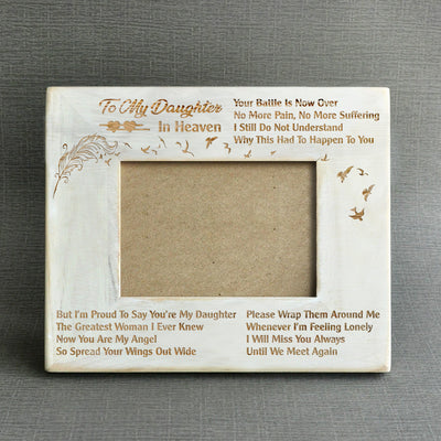 MISSING - YOU'RE MY DAUGHTER - WOOD FRAME