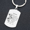 DAUGHTER MOM - PROUD - KEY CHAIN