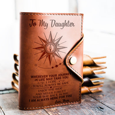 DAUGHTER MUM - ALWAYS BE SAFE - JOURNAL COVER